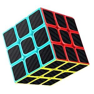 512 AW2bzRL. SS300  - Gritin Zauberwürfel, 3x3x3 magische Würfel Geschwindigkeit für Konzentrations und Kombinationsübungen Druckminderer Intelligenz IQ Geschenk Kind