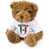NUEVO - BANDERA MÉXICO - Osito De Peluche - Adorable Lindo - Regalo Obsequio