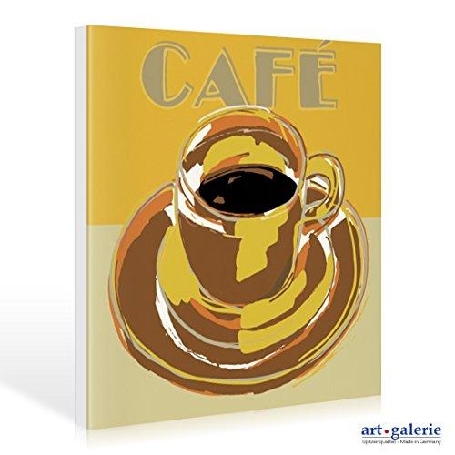 Leinwandbild Love Coffee