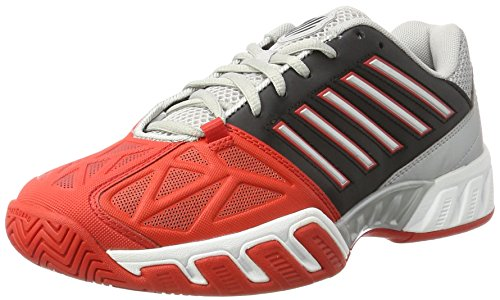the best attitude e28a4 fa8b6 K-Swiss Performance Herren Bigshot Light 3 Tennisschuhe, Mehrfarbig (Fiery  Red Black