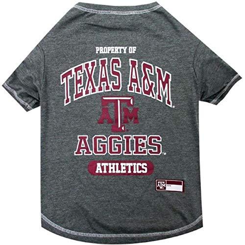 Texas A & M Aggies NCAA Dog Pet Tee T-Shirt, X-Large -