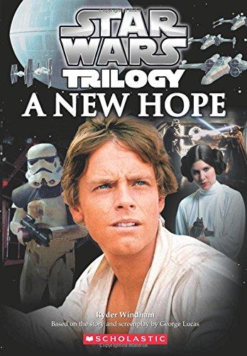 Portada del libro Star Wars Episode #04: A New Hope Novelization [Paperback] [Sep 25, 2014] Alan Dean Foster,George Lucas. [Paperback] [Jan 01, 2017] Alan Dean Foster,George Lucas.