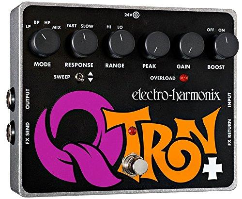 electro-harmonix Q-Tron Plus - Pedal de filtros para guitarra, color plateado