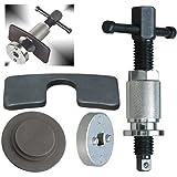2 in 1 Bremskolbenrücksteller Bremskolbenrücksetzer Vorderachse + Hinterachse für Fahrzeuge mit und ohne Drehvorrichtung