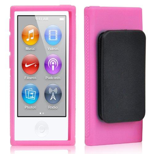 TRIXES iPod TPU Gel Case für Apple iPod Nano 7. Generation in Pink (Ipod Nano 7. Fällen)