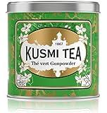 Kusmi Tea -Thé Vert à la Menthe - À Déguster Chaud ou en Thé Glacé - Boisson Désaltérante Traditionnelle - Véritables…