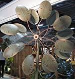 Wisley Wind Spinner / Wind Sculpture in Verdigris Green finish