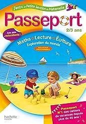 Passeport J'entre en petite section 2/3 ans - Cahier de vacances