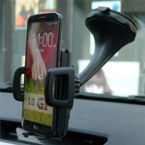 LG G2 Drehen & einrasten KFZ Windschutzscheibenhalterung (SKU 17911) (Lg G2 Windschutzscheibenhalterung)