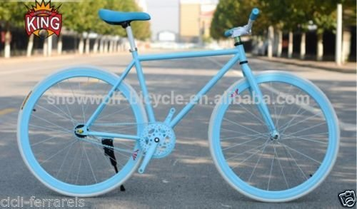 FIXED BIKE SINGLE SPEED BICICLETA SINGLE SPEED BICICLETA FIJACION FIJO 1 V AZUL