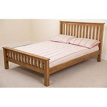 Cotswold Solid Oak 4ft 6 Double Bed Amazon Co Uk Kitchen