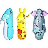 Bestway Hit Me Bop Bag For Kids ,Toy For Kids (36 Inch) Random Colors Patterns
