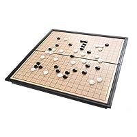 Azerus-Standard-Line-Go-Reiseset-Klassisches-Go-Weiqi-Spielbrett-mit-magnetische-Spielsteinen-Mittlere-Brettgre-M25cm-x-25cm-Spielbrett-dient-gleichzeitig-als-Reisebox-Art-SC5612-DE Azerus Premium Line: Go Reiseset / Klassisches Go / Weiqi, Spielbrett mit magnetische Spielsteinen, Mittlere Brettgröße M(25cm x 25cm), Spielbrett dient gleichzeitig als Reisebox und Aufbewahrungsschachtel aus Metall, Art. SC5612 DE -