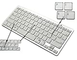 BORIYUAN Ultra dünn Bluetooth 3.0 Wireless Tastatur Kabellose Deutsche Keyboard