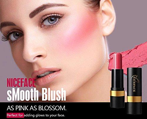 Vovotrade Blush Stick correcteur maquillage multi-fonctions Femmes Maquillage mat Doux Hydratant Naturel Léger Réparation 1PC Imperméable Durable Éclaircissant Nude Lumineux Maquillage Blush