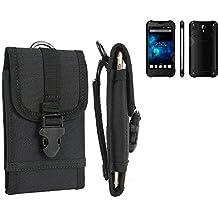 bolsa del cinturón / funda para Blackview BV5000, negro | caja del teléfono cubierta protectora bolso - K-S-Trade (TM)