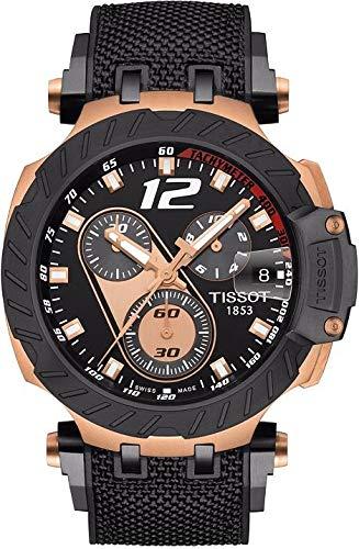 Tissot Herren-Uhren Analog Quarz One Size Kautschuk 87645321