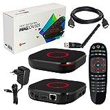 MAG 324 Original Infomir & HB-DIGITAL IPTV Set Récepteur IP pour Lecteur multimédia...