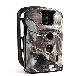sunluxy 12mp 120 trail cam ra de chasse cam ra de surveillance photo et vid o num rique. Black Bedroom Furniture Sets. Home Design Ideas