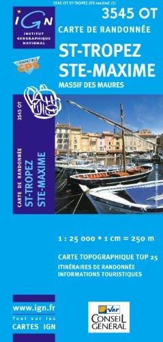 St-Tropez, Ste-Maxime : 1/25 000