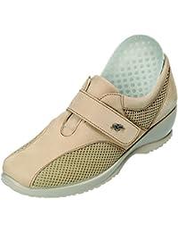 Fly Flot , Chaussures de ville à lacets pour femme beige beige