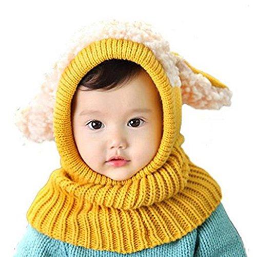 MILEEO Kinder Junge Mädchen Schalmütze Mütze Winter Baby Warme Haube Schal Mützen Hüte,Fleece Mütze, Ski Maske Halswärmer Fleece Winter Ski Hut