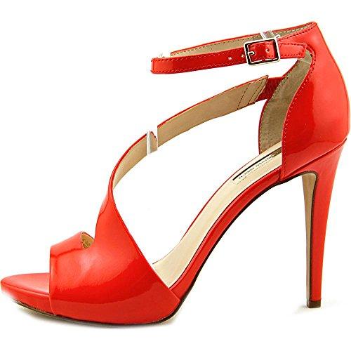 INC International Concepts Suzi Synthetik Sandale Tangerine