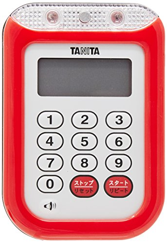 Tanita imperm?able minuterie fort TD-377 rouge (japon importation)