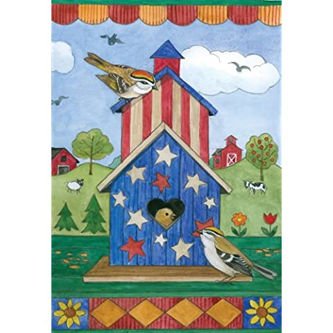 American Birdhouse Garden