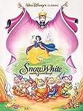 Blanche-Neige et les sept nains - Evil Queen -Prêt encadré toile - 60 x 80 x 3.8cm (24 x 32 x 1.5 Pouces) - Avec Supports et encadreurs cordon
