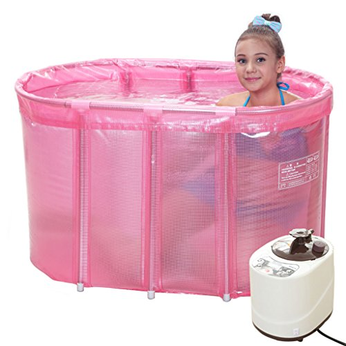 Mysida Bath Barrel Adult Folding Badewanne Sauna Baden Dual-Purpose Steam Waschmaschine Set