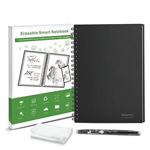 Wiederverwendbares Notizbuch Smart Notizheft a5 wirebound notebook smarte reusable notizbücher (148×210mm) with spiral wiederverwendbar executive app radierbar Cloud Storage Notebook mit erasable Stift (A5)