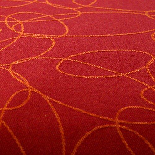 Didymos Tragetuch 461002, Modell Ellipsen rubin-mandarine - 4