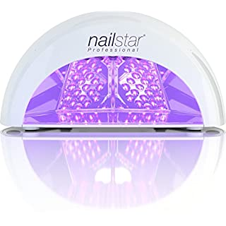 NailStar® Professional LED Nail Dryer Nail Lamp for Gel Polish with 30sec, 60sec, 90sec and 30min Timers