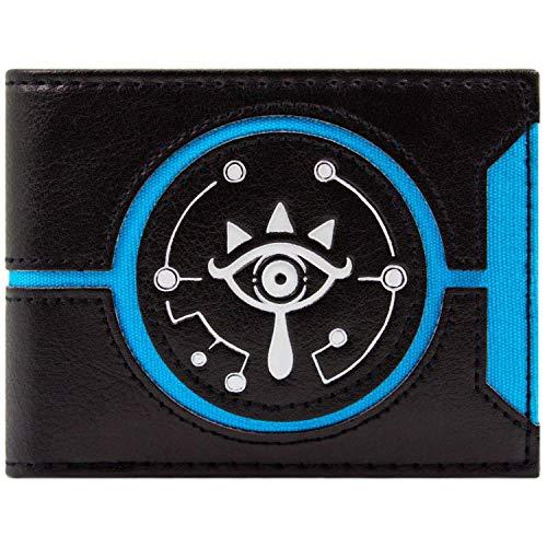 Cartera Zelda Aliento logotipo salvaje Negro