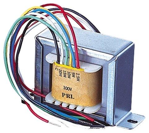 Mit 100V-Übertrager 0,6, 1,25, 2,5, 5, 10W Abgriffe P634T