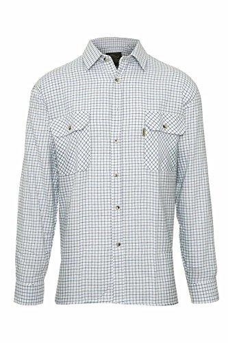 j-by-jasper-conran-designer-herren-gross-und-hoch-weiss-kariertes-hemd-tattersall-muster