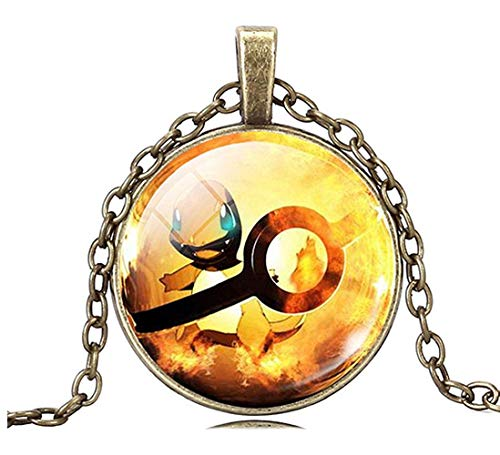 Inception Pro Infinite Pkmn2 - Pokemon Go Halskette Pokeball Pokeball (Orange) (Pokemon Mädchen Charaktere)