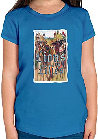 Lions and lilies T-shirt Fille 12+ yrs