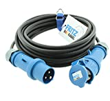 FRITZ DAS KABEL CEE Gummiverlängerung H07RN-F 3G 1