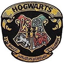 Parche bordado con el escudo de la casa de Hogwarts de Harry Potter para coser o planchar 8,3 cm