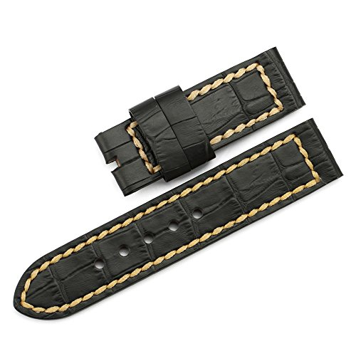istrap-tang-de-piel-autentica-24-mm-correa-para-reloj-band-grano-croco-para-panerai-negro-marron-de-