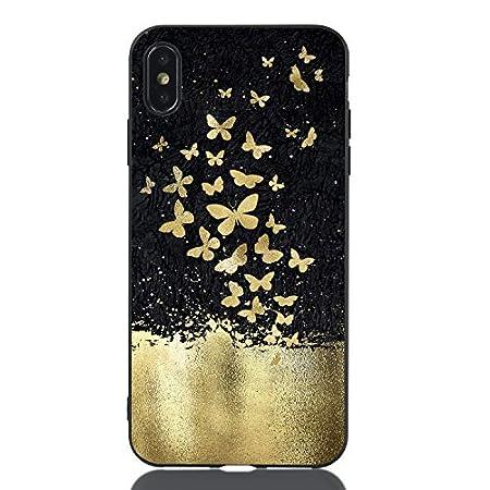 Slim Weich Bling TPU für iPhone 8 Plus iPhone 7 Plus,Flexible Flower Cartoon Kreative Soft Crystal Transparent Clear…