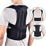 HailiCare Corrector de Postura para Espalda Transpirable y ajustable Soporte de Espalda para Corregir Postura Hombros y Espalda y Alivio del Dolor Mujer y Hombre (XL 40'' - 52'')