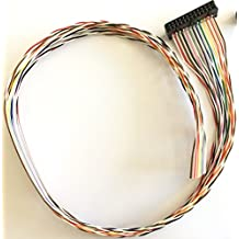 QD142: Kabel für 12 Anschlüsse am Qdecoder ZA3-M4 (50 cm lang)