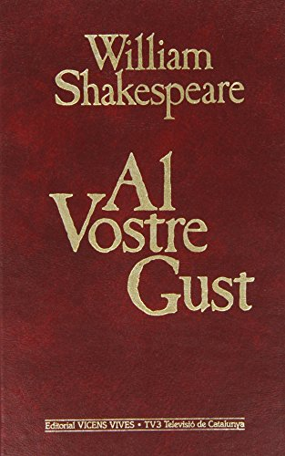 3. Al vostre gust (Obra Completa de William Shakespeare)