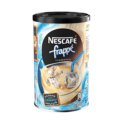 Eiskaffee Getränkepulver (mit löslichem Bohnenkaffee, zarte Mokka-Note, koffeinhaltig, ideal im Sommer) 1 Dose (1 x 275g) ()