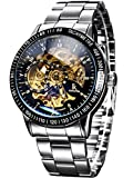 Best Mens Watches - Alienwork IK Automatic Watch Self-winding Skeleton Mechanical Stainless Review