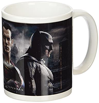 Batman V – Superman – TRIO Tasse en céramique, multicolore