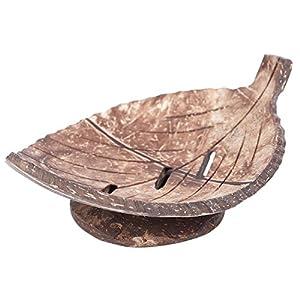 TOOGOO 1pieza Hecho a Mano Creativo Natural Bano de Madera Jabonera Recipiente Envase Cocina Tina Taza de Almacenamiento…